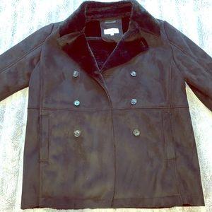 Suede Calvin Klein jacket